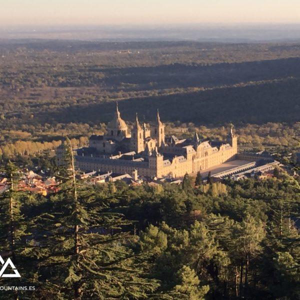 Vistas del Monasterio de El Escorial desde Abantos