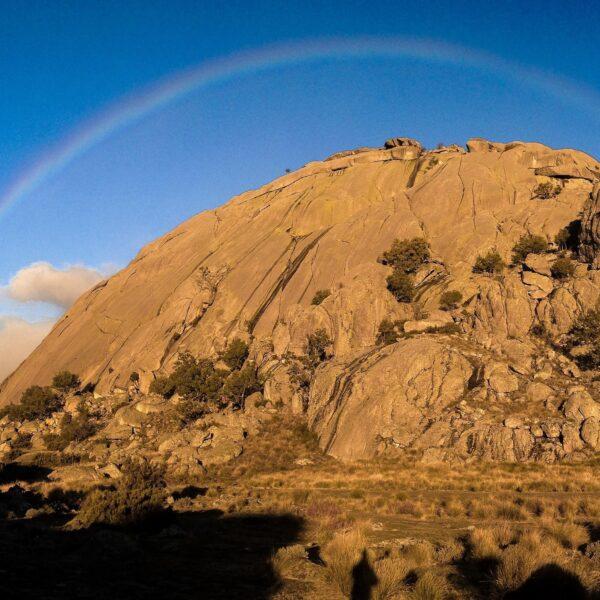 Arco Iris en el Yelmo, La Pedriza