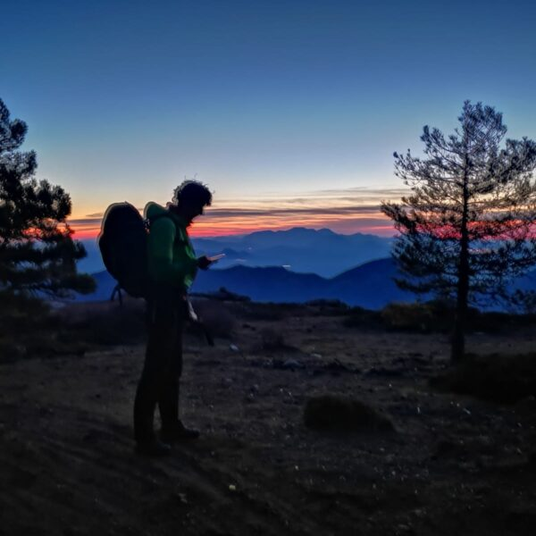 1. trekking vivac sierra de cazorla