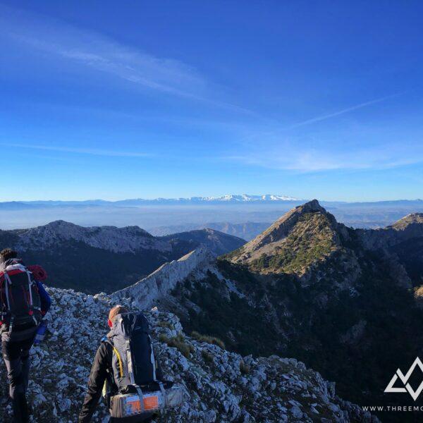 2. trekking vivac sierra de cazorla