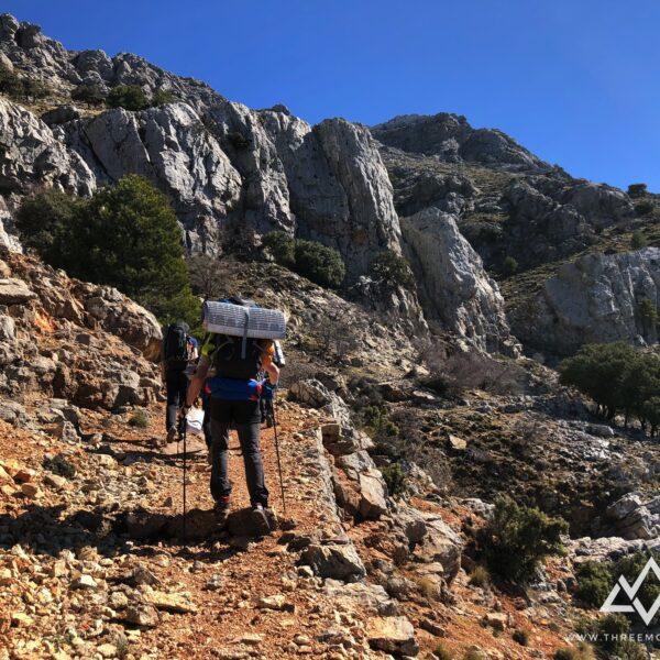 6. trekking vivac sierra de cazorla