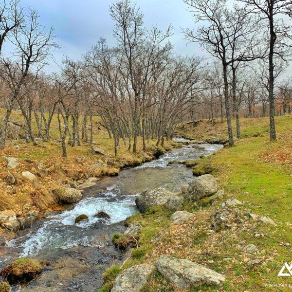 Arroyo del chorro remontando el valle que llega a la Chorrera de San Mamés