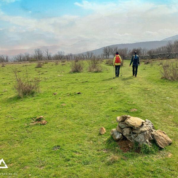 Praderas en la ruta de la Chorrera de San Mamés